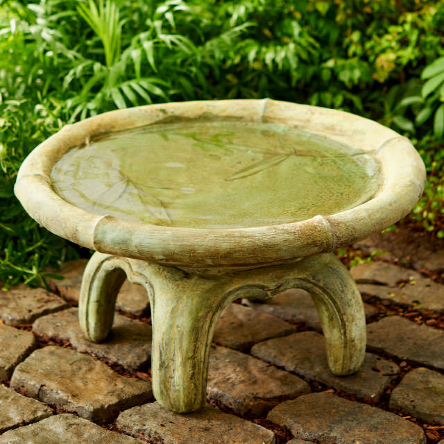Unique Stone - Birdbaths & Feeders