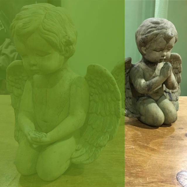 13020 Medium Praying Angel