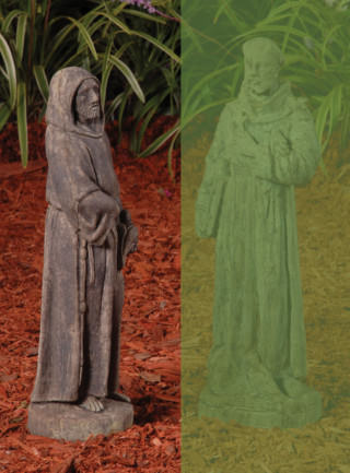 14008 Hooded Saint Francis