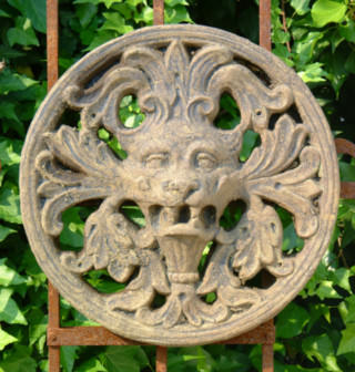 37501 Gothic Lion Plaque