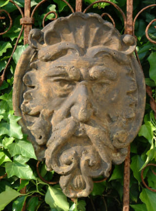 38001 Green Man plaque