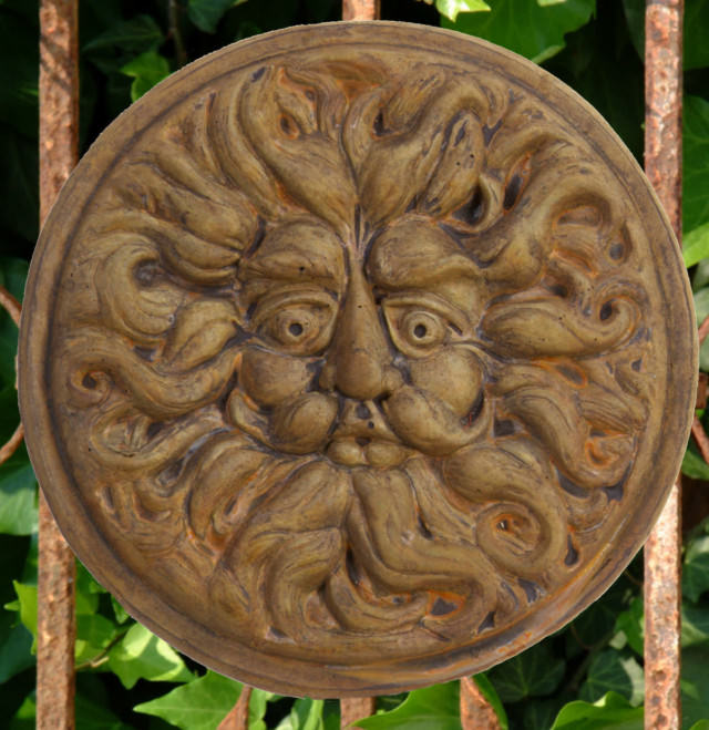 38024 Round Wind Plaque