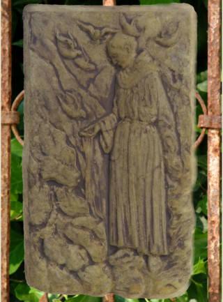 38049 St. Francis Plaque