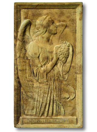 38053 Angel of Grape Harvest Plaque *Biltmore*