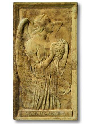 38053 Angel of Grape Harvest Plaque *Biltmore*