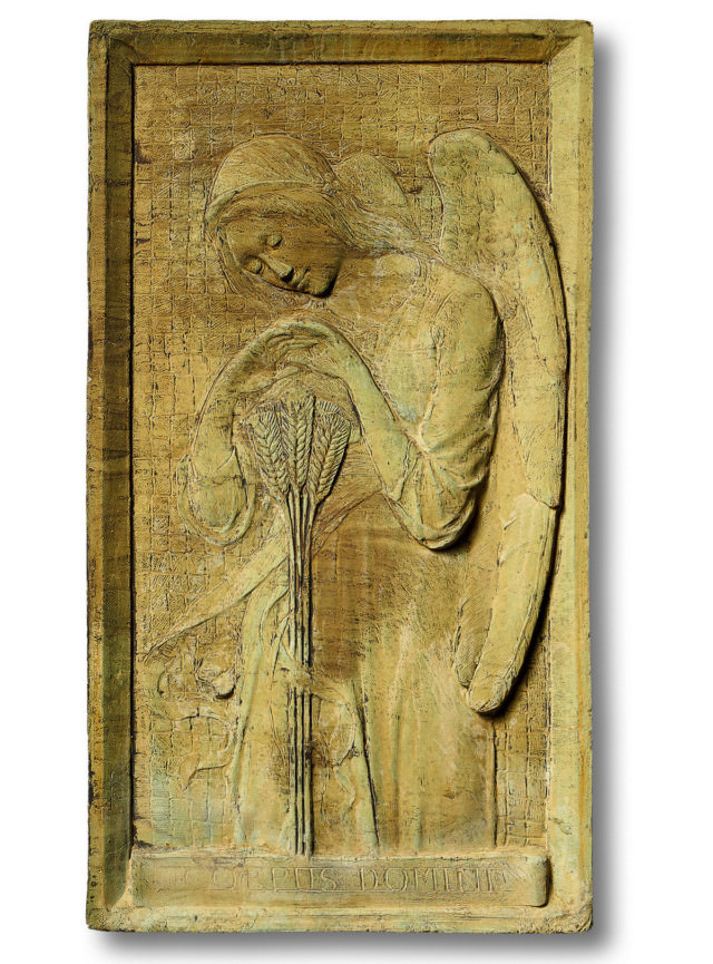 38054 Angel of Wheat Harvest Plaque *Biltmore*