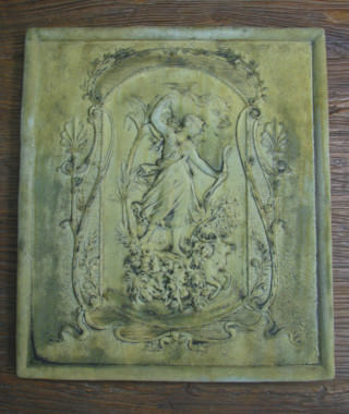 38068 Victorian Huntress Plaque *Biltmore*
