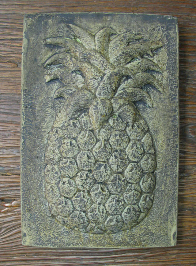 38070 Meeting Street Pineapple Plaque *Charleston*