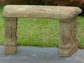 46001 Curved Cheshire Bench
