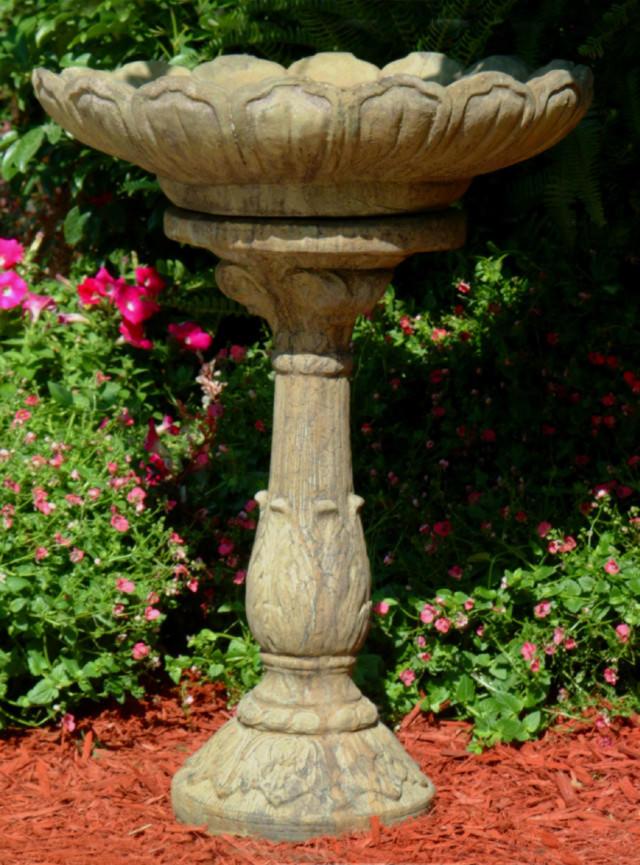 52006 Lotus Birdbath