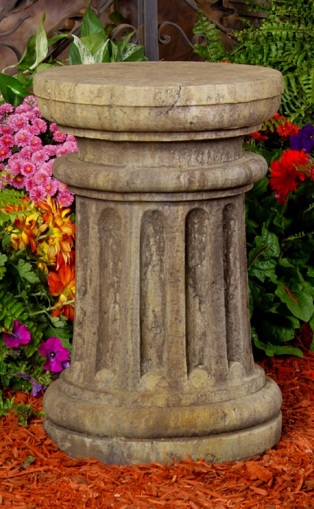 54005_Fat_Column_Sundial | Unique Stone | Antique & Garden Reproductions