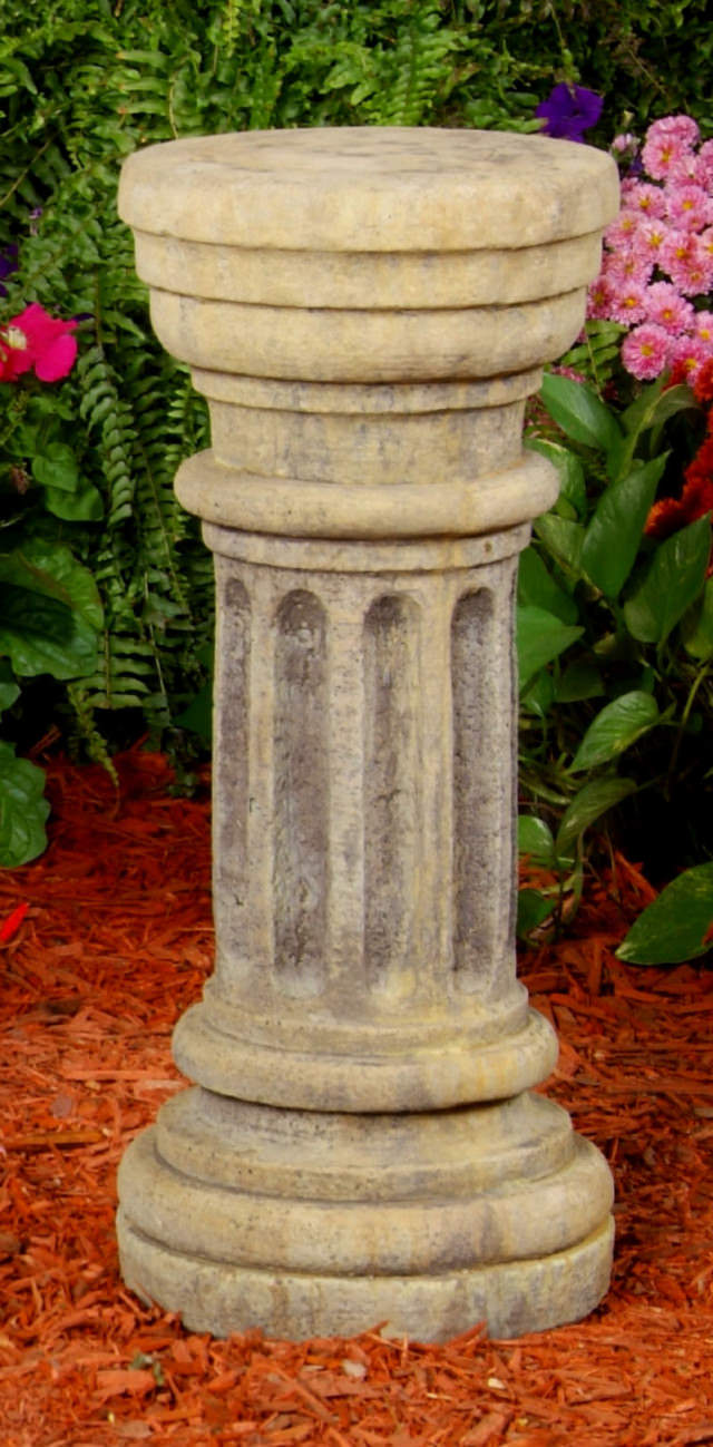 Merveilleux 54006 Thin Column Sundial. Pedestals ...