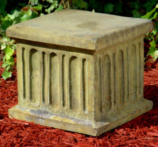 55003 Square Fluted Pedestal