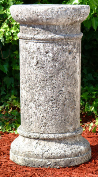 55014 Short Round Antique Pedestal