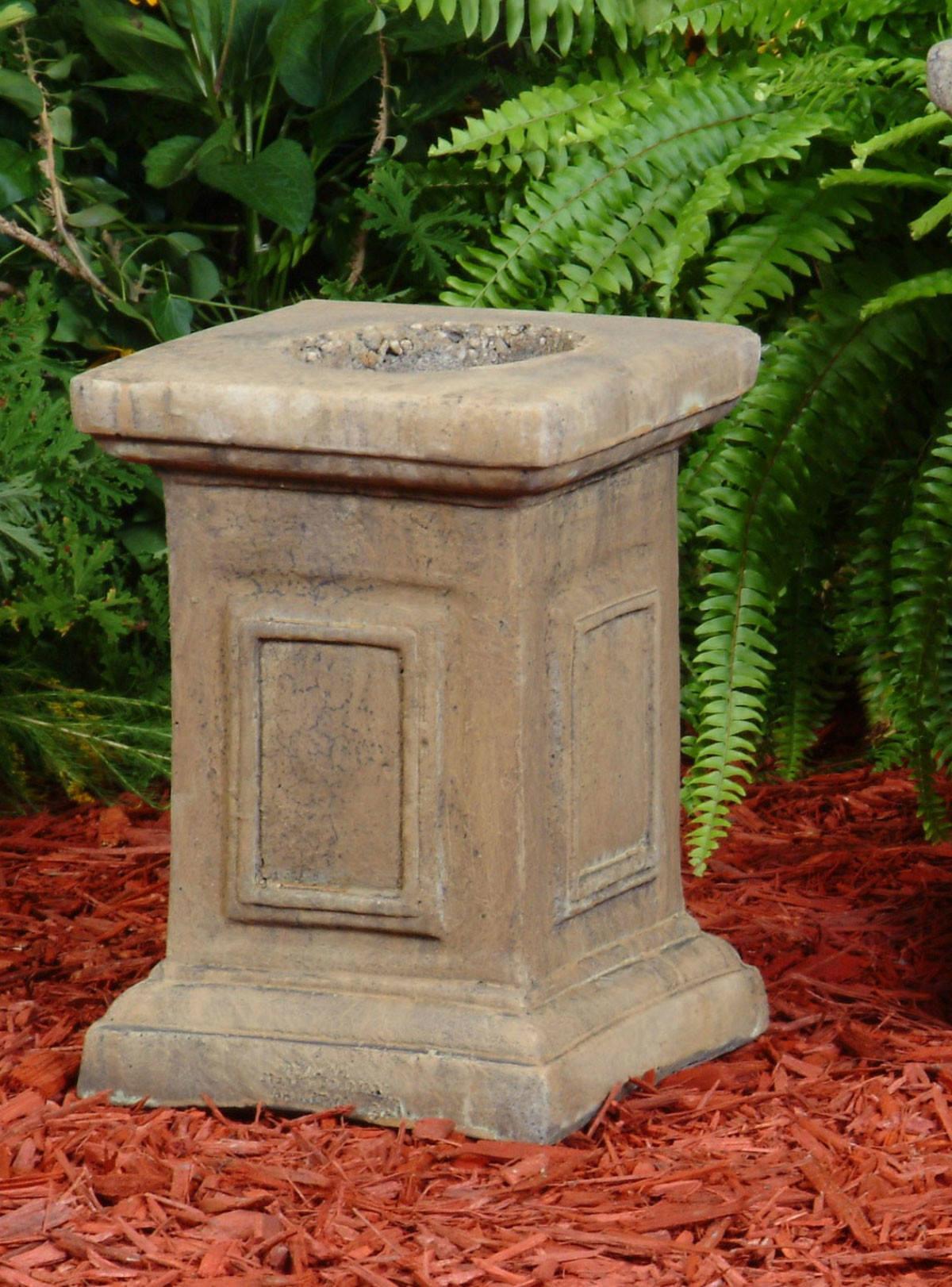 shop planter garden pedestal vase annecy on pot s stone plant large