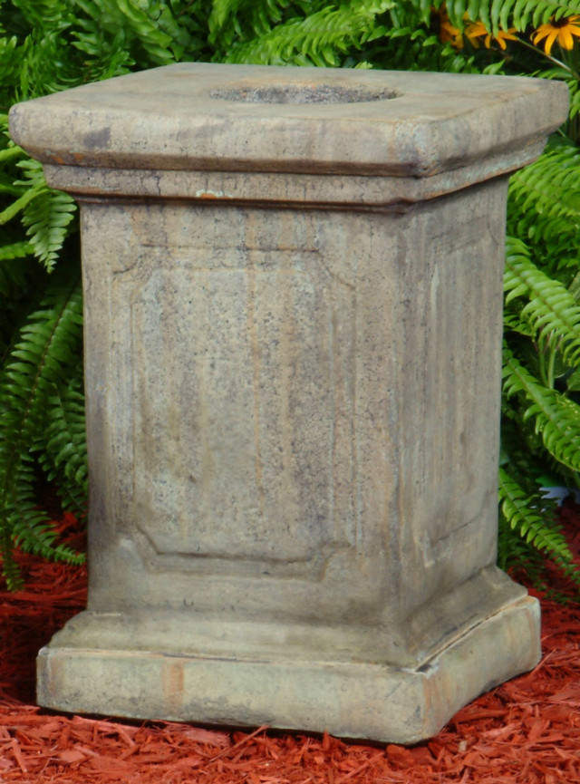 55022 B Large ENGLISH GARDEN Pedestal