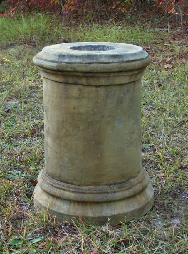 55035 Plain Round Pedestal