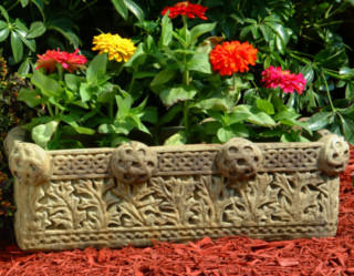 62000 Rectangular Celtic Planter