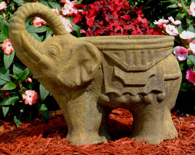 63000 Elephant Planter