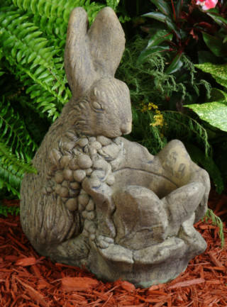 63004 Cabbage Rabbit Pot