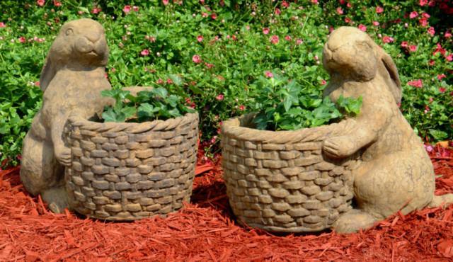 63006 Bunny Basket Left