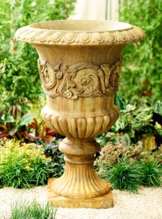 64312 Gallery Scroll Urn