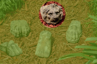 65001 Lion Face Riser
