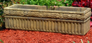 69002 Rectangular Laurel Planter