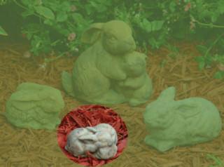 80018 Small Double Bunny
