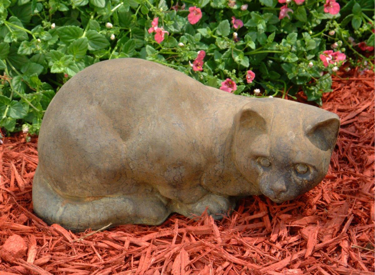 80508_Spooky_Cat   Unique Stone   Antique & Garden Reproductions