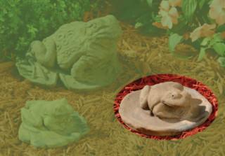 82509 B Medium Lily Pad Frog