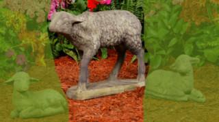 84500 Standing Lamb