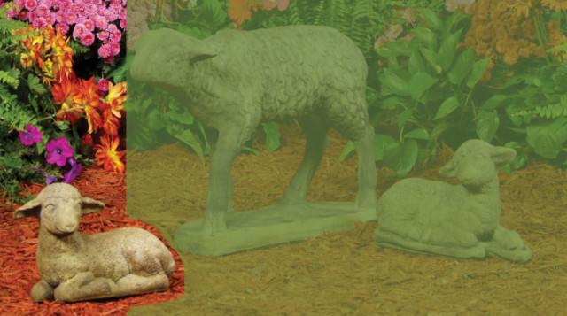 84501 Baby Lamb-Left