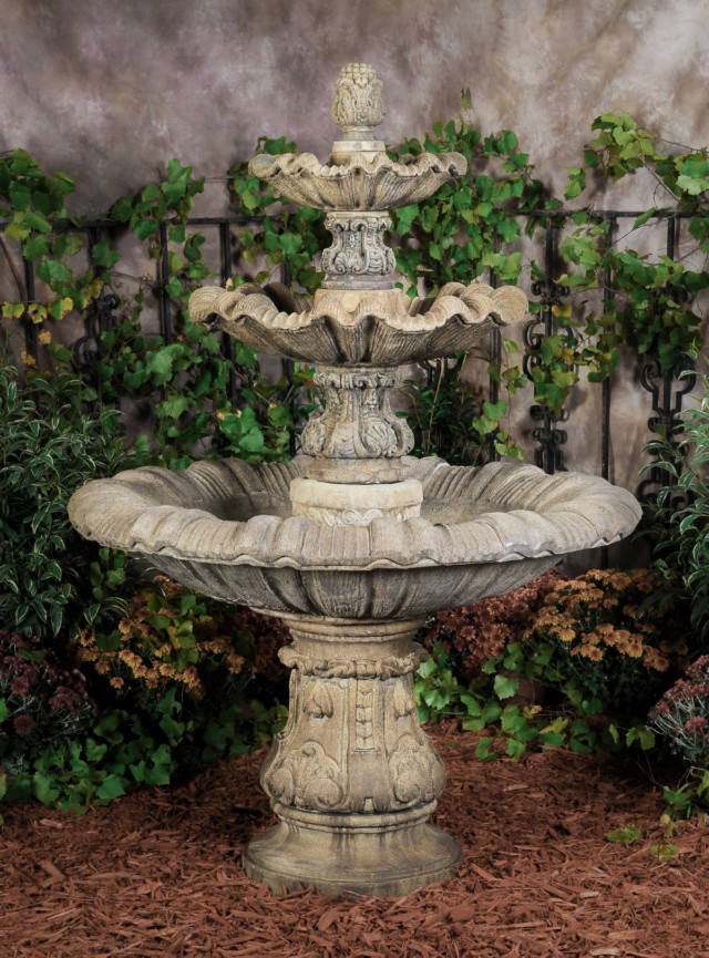 95500 3-Tier Italian Fountain (Self-Contained)