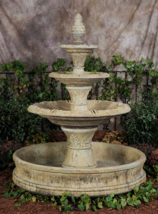 95502 WP 3-Tier Royale Fountain with Whispering Pool
