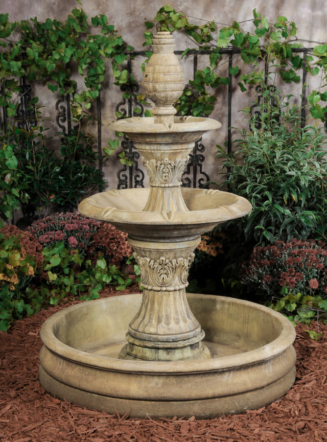 95503 WP 2-Tier Royale Fountain with 18th Century Pool