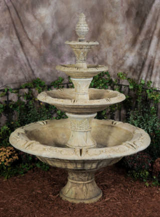 95504 4-Tier Eminence Fountain (Self-Contained)